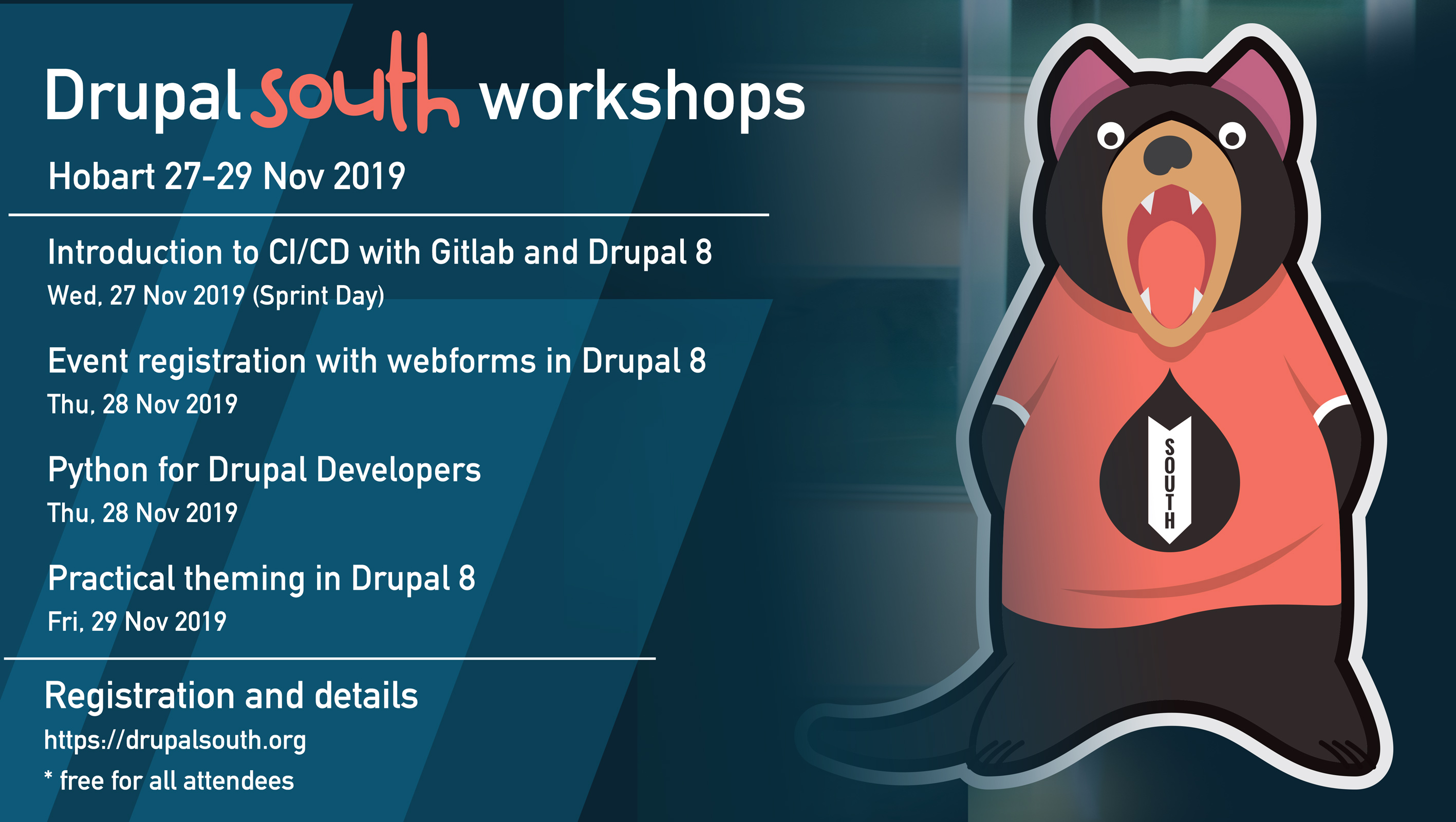 DrupalSouth training